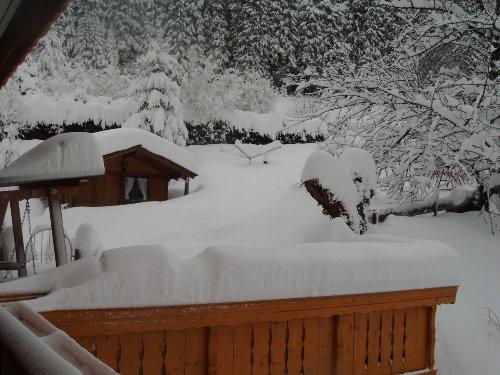 Winter mit viel Schnee