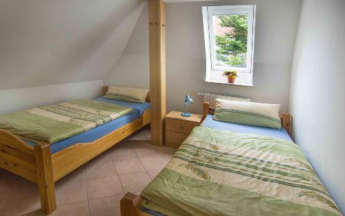 Schlafzimmer in OG