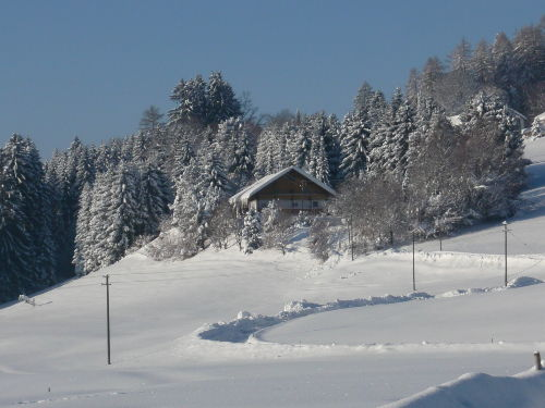 Unser Landhaus Schmidt im Winter 2012