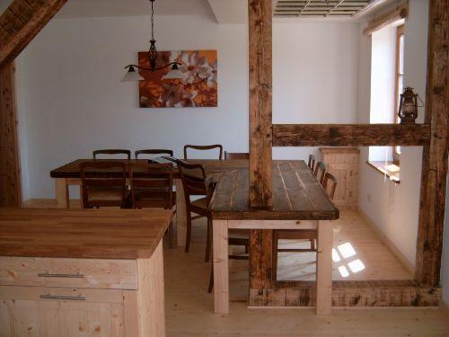 Gro�er Essbereich Wohnung Rosenhagen
