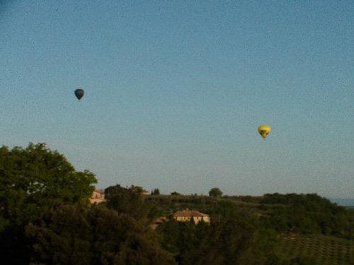 Ballonfahrt kann man ganz in der Nähe