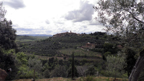 Blick auf Castelmuzzio