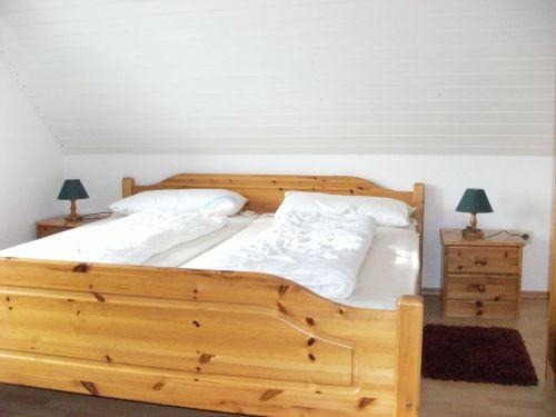Das zweite Schlafzimmer im OG