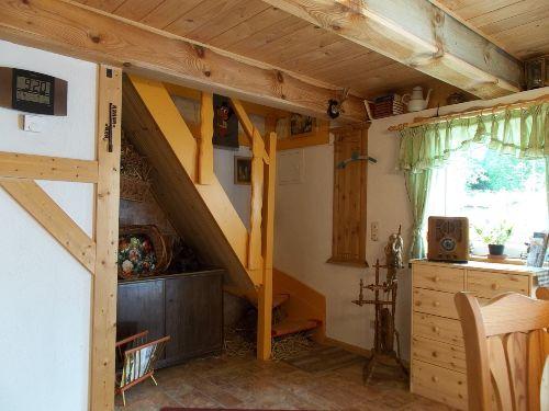 Treppe zur Zwergenschlafkammer