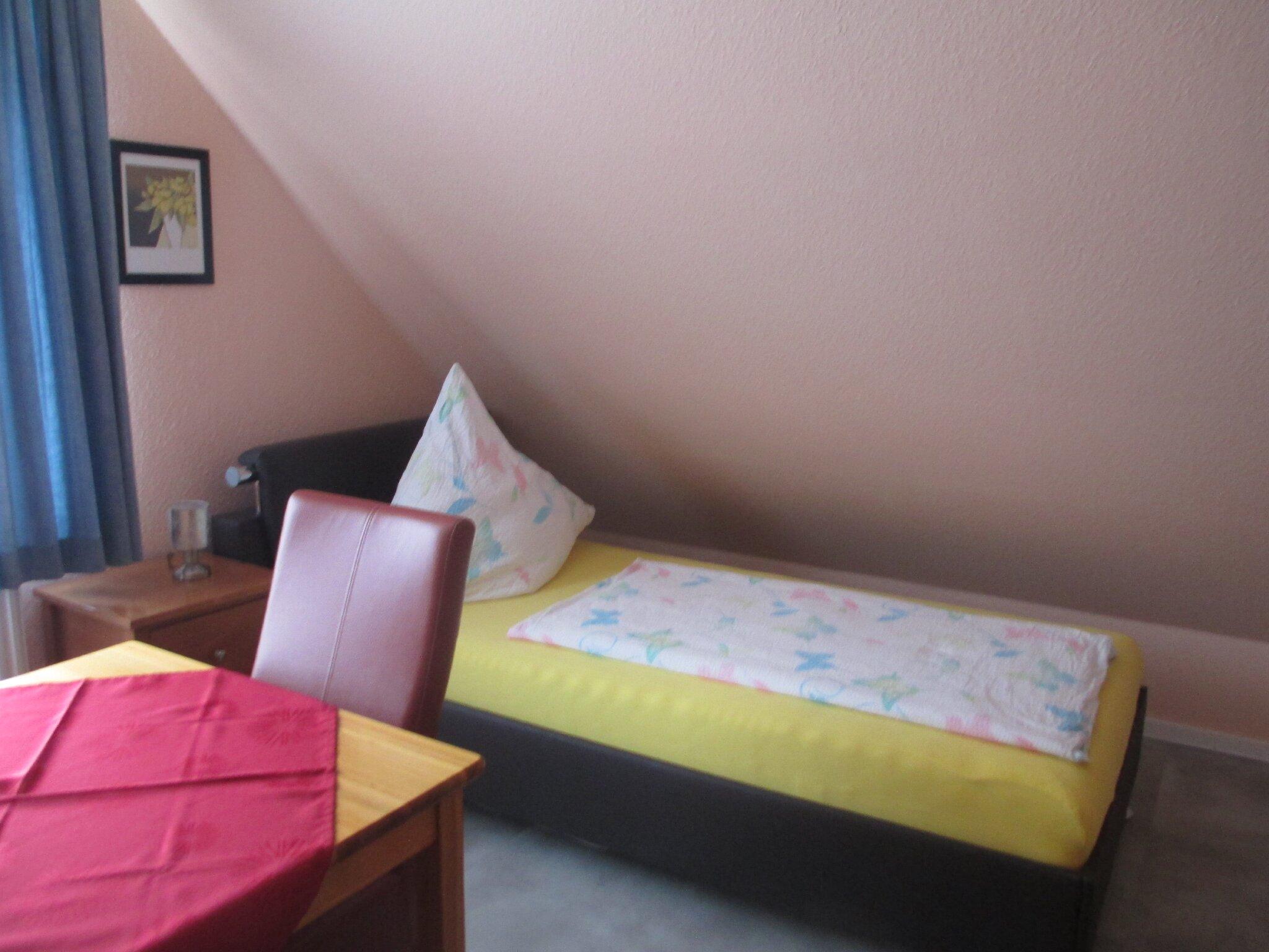 Schlafzimmer oben 2 Einzelbetten