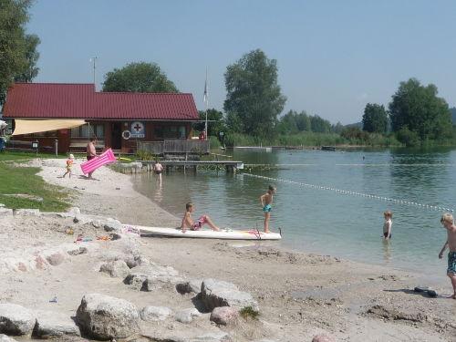 Tachinger See - Wärmster See Oberbayerns