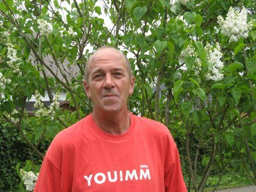 Chef im Garten in Archsum