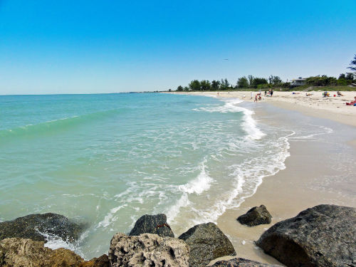 North Jetty Beach Florida
