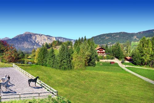 Ferienwohnungen mit Teich und Reitplatz