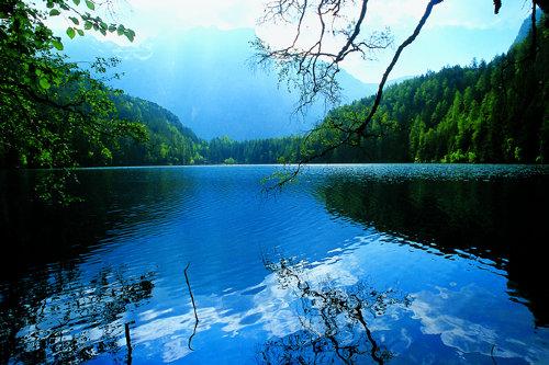 Der Piburgersee ist in 15 Fußminuten z.e