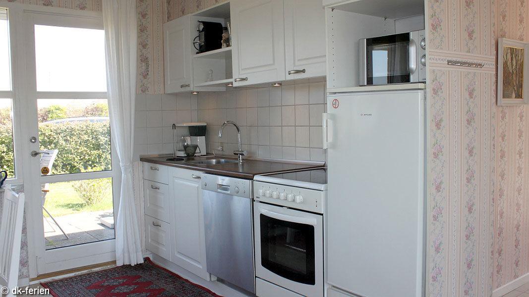offene Küche im Vemmingbund Hus