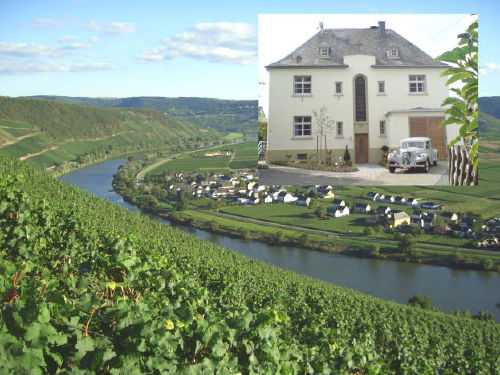 Altes Pfarrhaus in K�werich/ Mosel