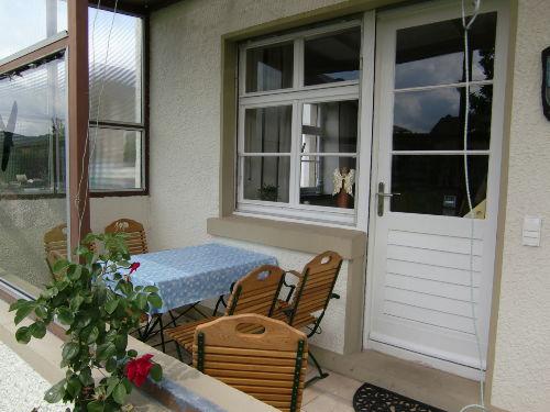 Himmelreich: Terrasse