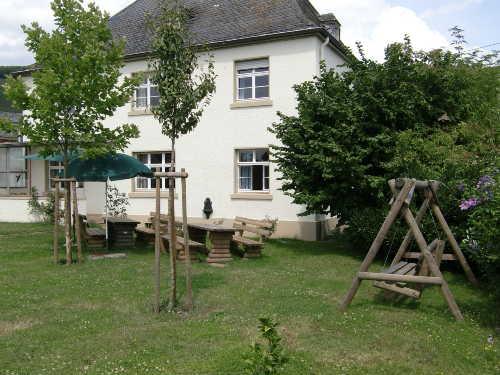 Garten und R�ckseite Haus