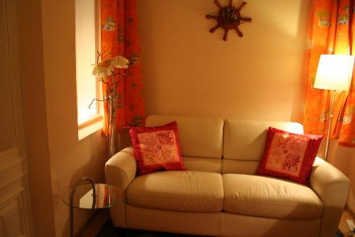 Sofa in der Veranda
