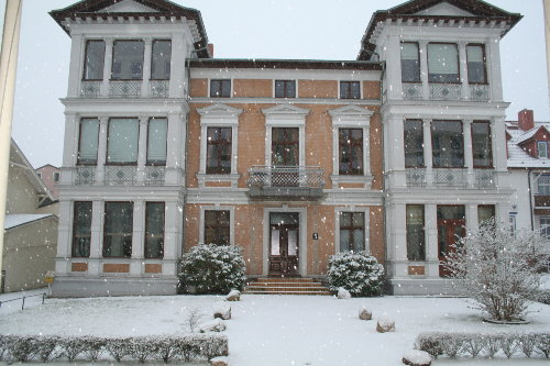 Villa Kramme im Winter