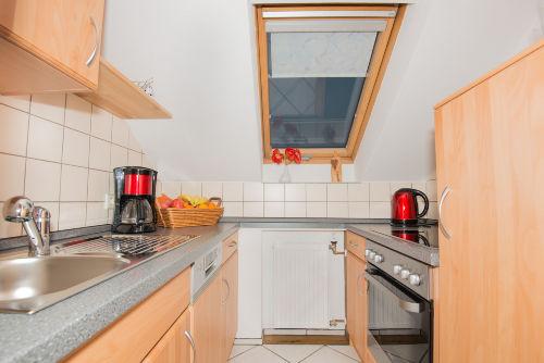 Neue Küche mit allem was man braucht