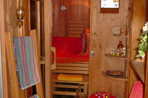 Genießen Sie unsere Sauna