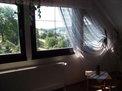 Panorama-Ausblick aus Wohnzimmer