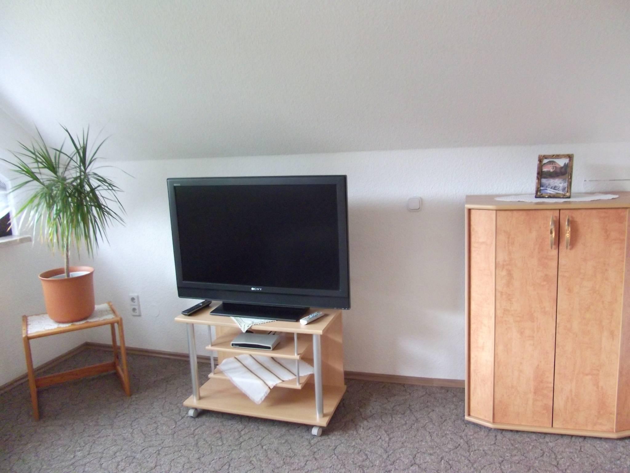 Couchecke im 26-qm-großen Wohnzimmer