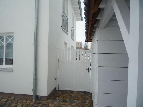 separater Eingang zur Ferienwohnung