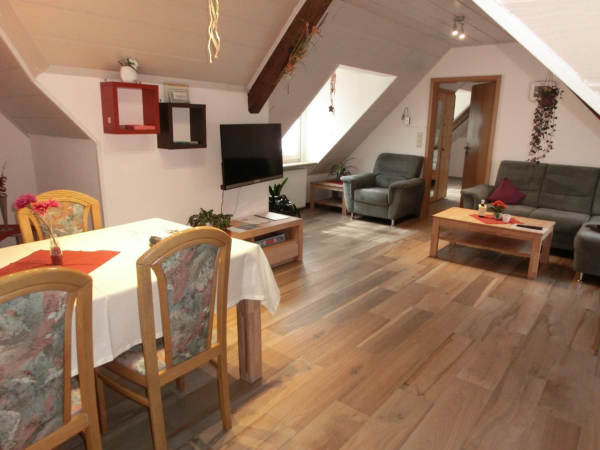 Leseecke im Wohn/Esszimmer