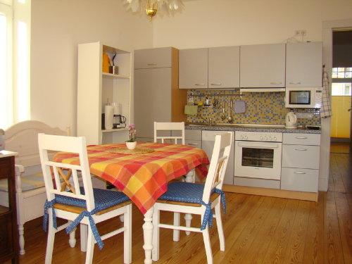 Küche und Essbereich Hochparterre