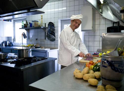 Profiküche (auf Wunsch mit Koch)