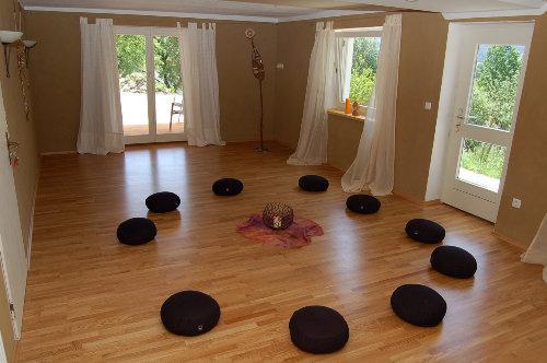 Der neue Meditationsraum am Garten