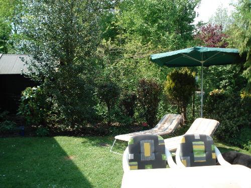 Gartensicht von der Terrasse