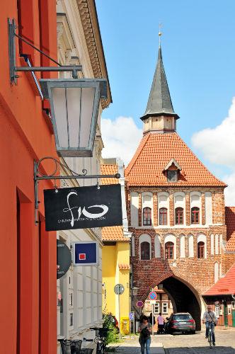 Außenansicht Ferienhaus - Am Kütertor -