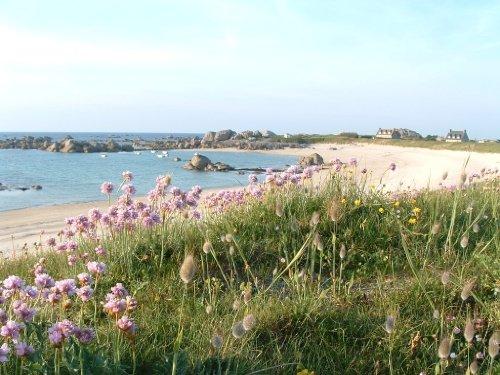 Strand ca. 1 km vom Haus (Plage Rudoloc