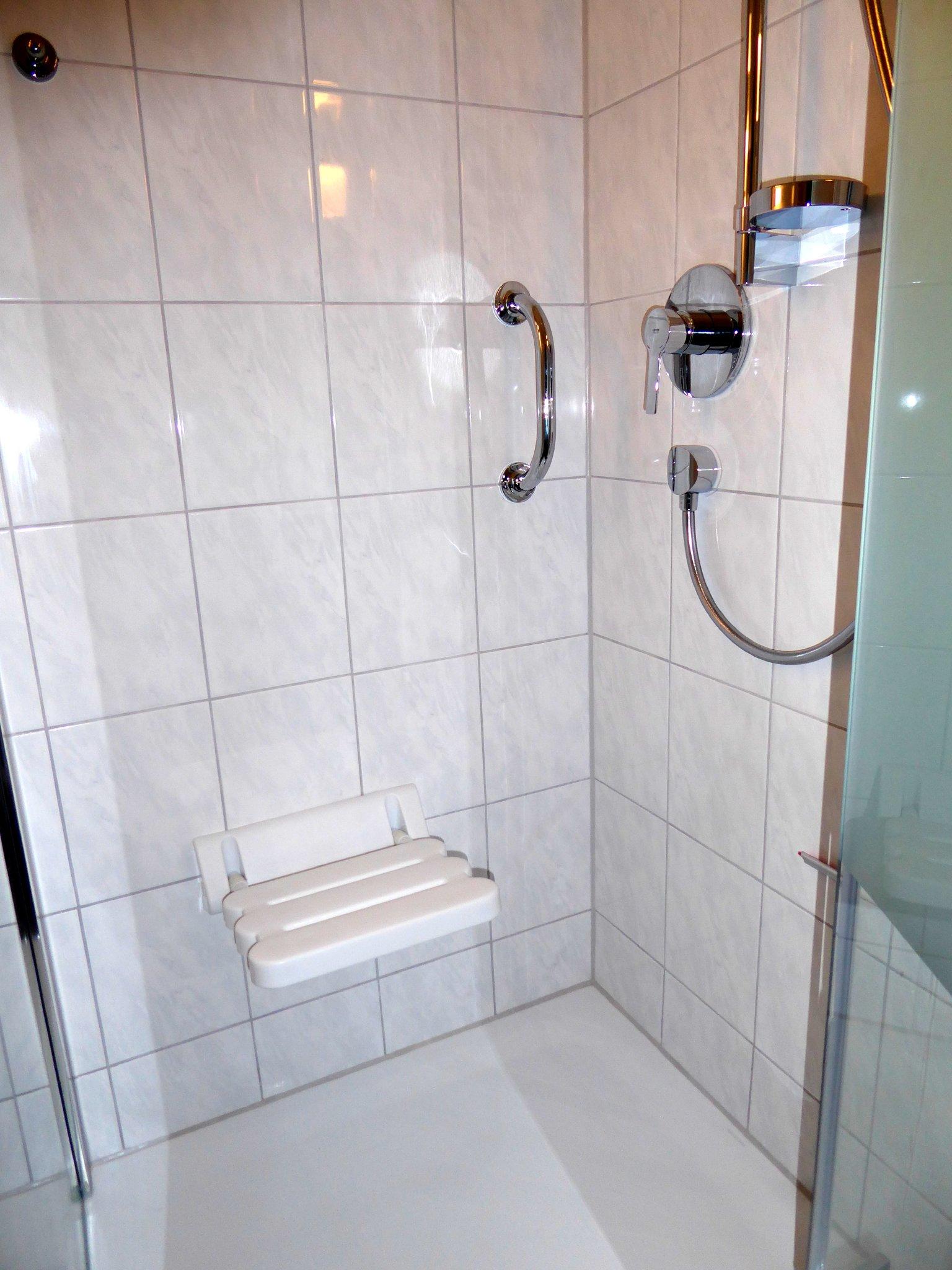 Duschkabine im Bad