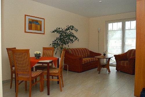 Blick in eine Ferienwohnung (Wohnzimmer)