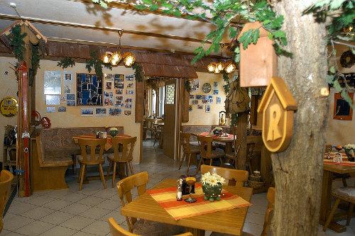 Blick in die Gaststätte