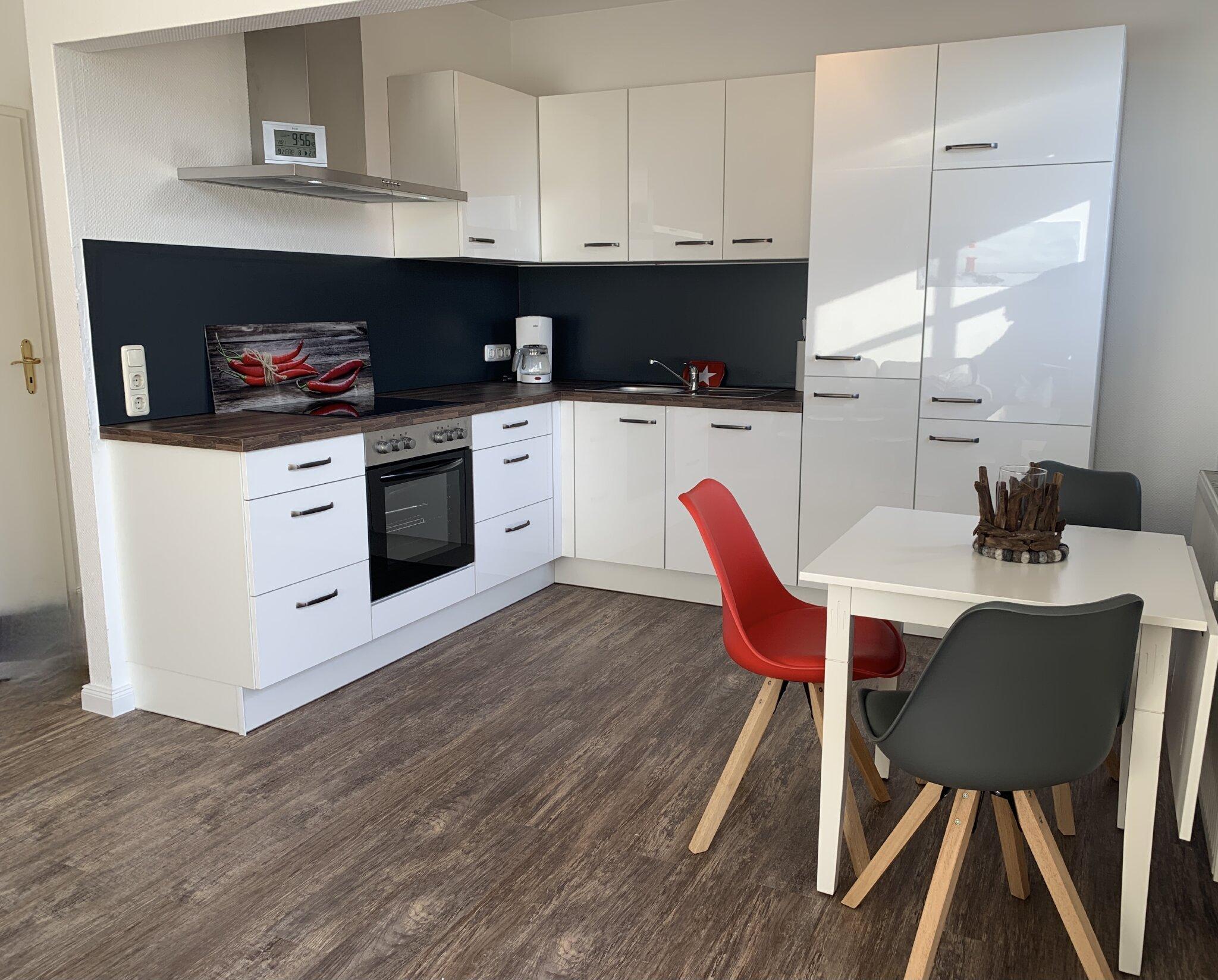 Wohnzimmer mit Flatscreen