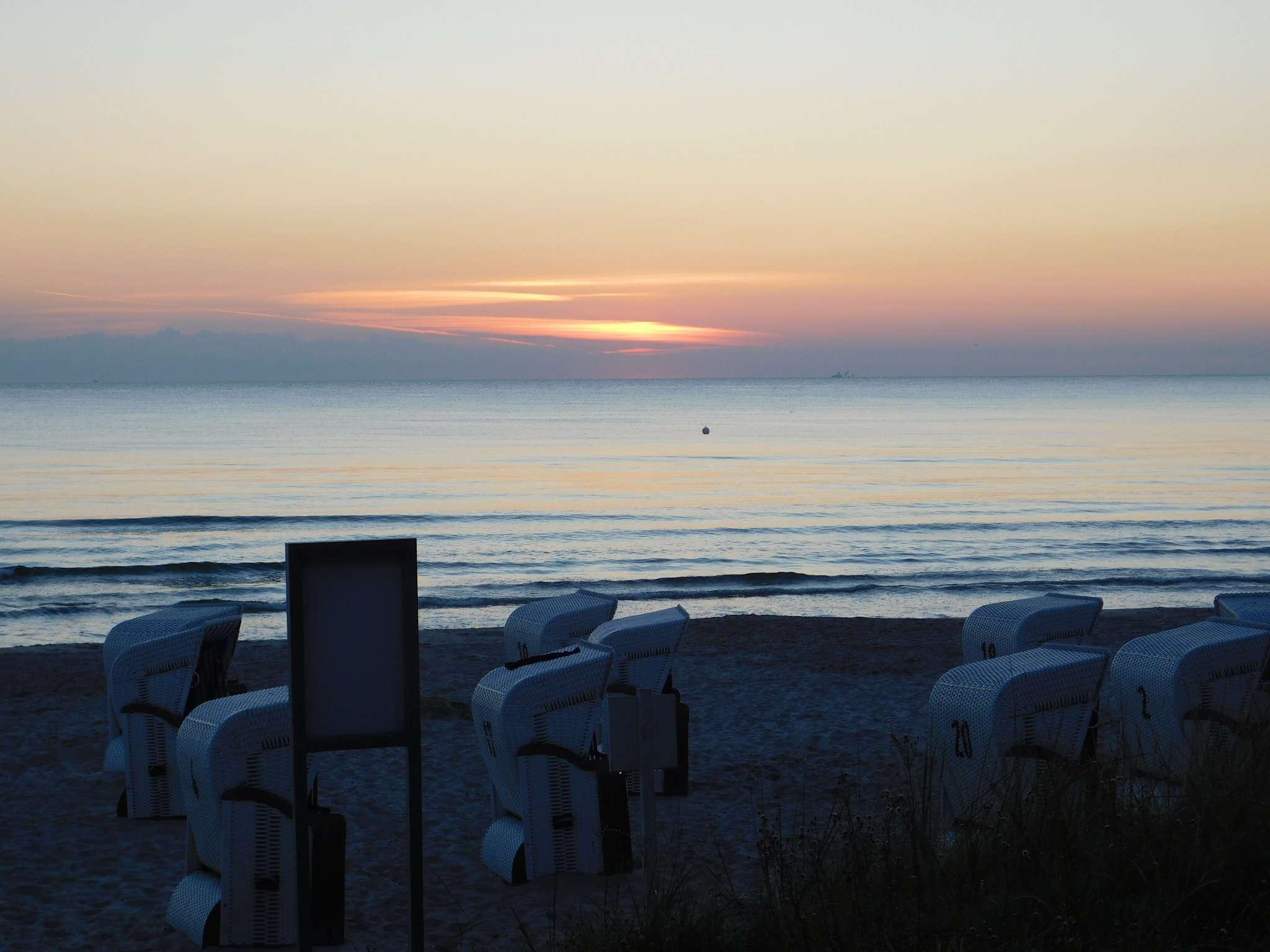 Der Strand vor Haus Strelasund