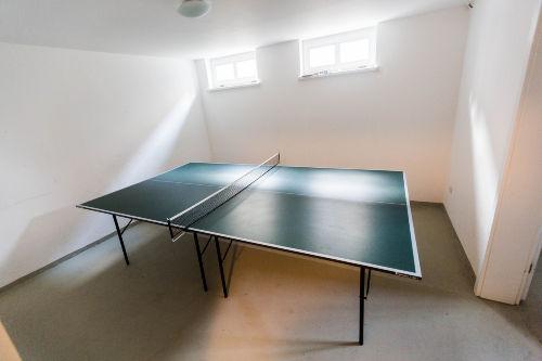 Keller-Tischtennisraum
