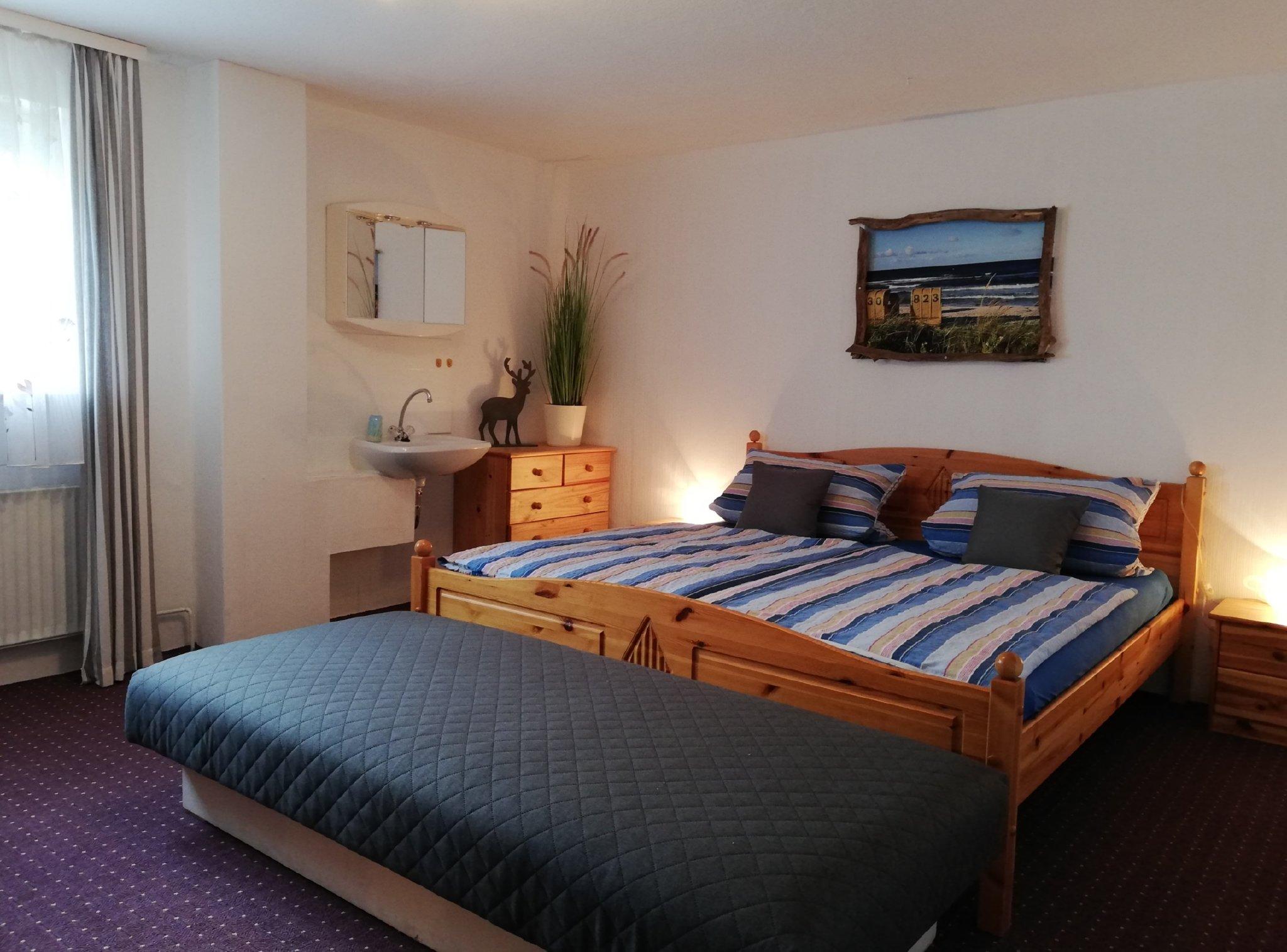 """""""Große Wohnung"""" - Schlafzimmer 1"""
