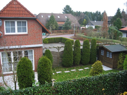 Haus Nordlicht - Blick in den Garten