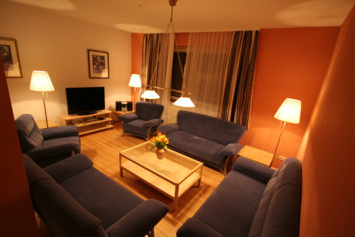 Sitzecke große Wohnung