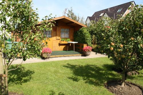 Gartenbereich für Gäste