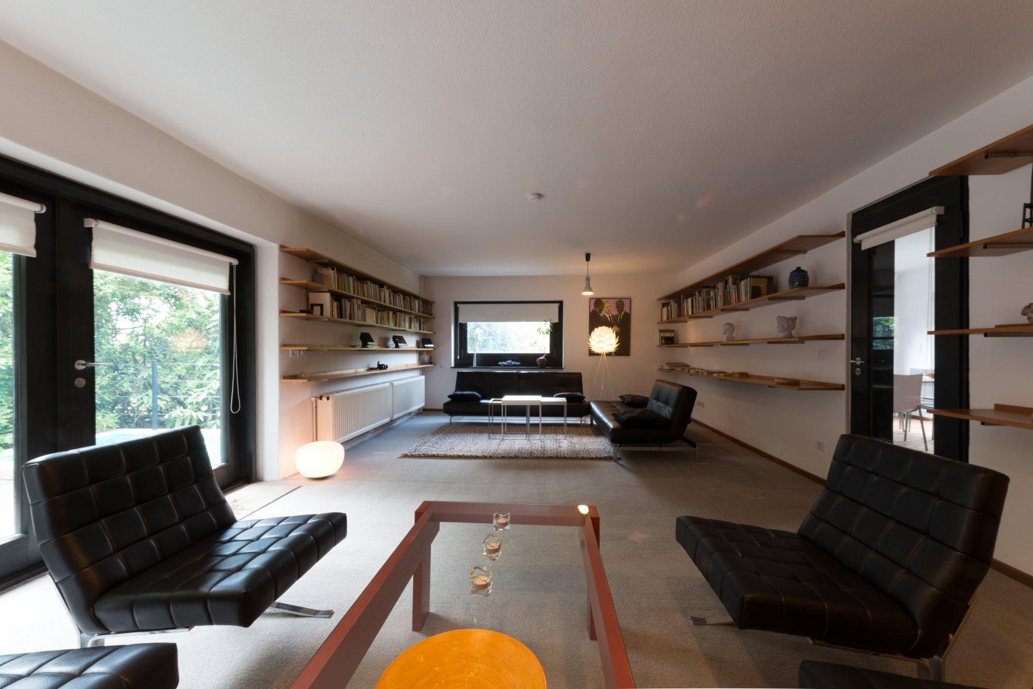 Sitzgruppe im großen Wohnraum