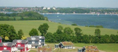 Blick über die Steilküste nach Neustadt