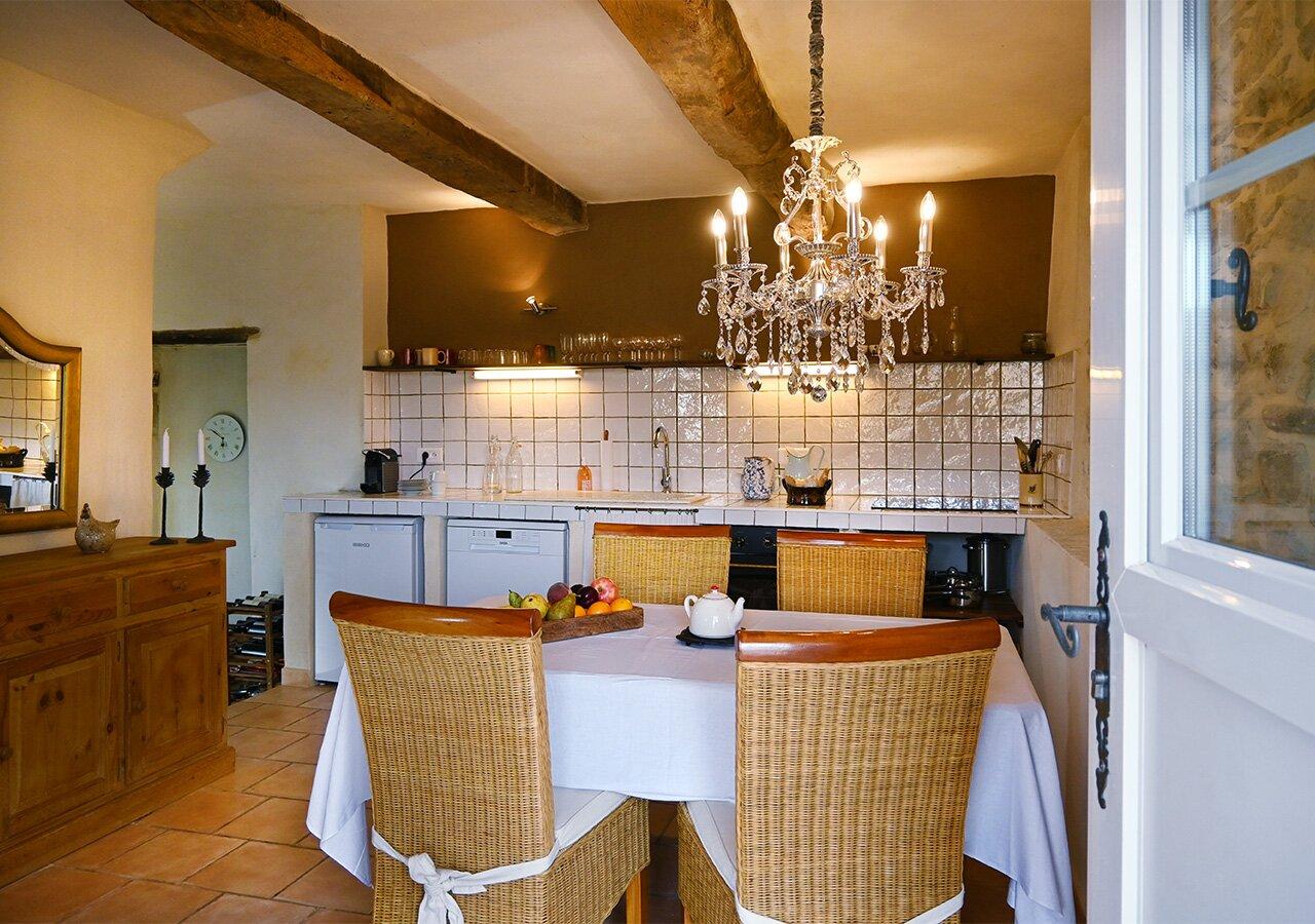 """Hausteil """"Sissi"""" - Küche mit Esszimmer"""