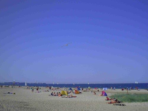 Falkensteiner Strand im Juni