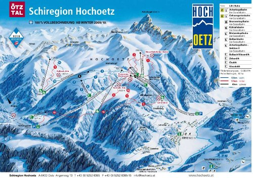 Schiregion Hochtz - 8 Autominuten