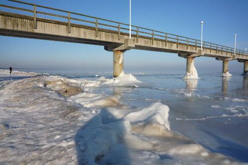 Zugefrorene Ostsee