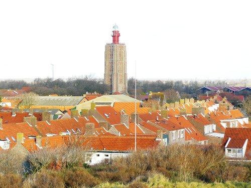 Westkapelle mit der Leuchtturm