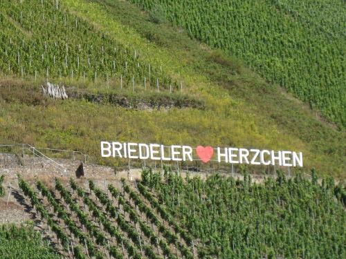 """Weinlage """"Briedeler Herzchen"""""""